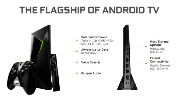 NVIDIA Shield TV vs Shield TV Pro - Özellikler
